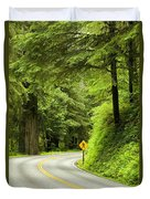Highway Curve Duvet Cover