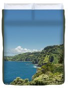 Highway To Heaven Hana Highway Maui Hawaii Duvet Cover