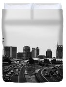 highway to Music City Duvet Cover