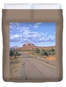 Highway To Sedona Duvet Cover