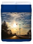 Highway To The Sun Duvet Cover