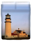 Higland Lighthouse Cape Cod Duvet Cover
