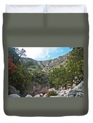 Hiking Guadalupe Duvet Cover