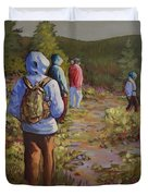 Hiking The Paintbrush Trail, Manning Provincial Park, B. C., Revisited Duvet Cover