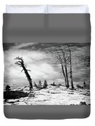 Hiking The Rim, Yosemite Duvet Cover