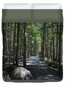 Hiking Trail At Brandywine Falls Provincial Park Duvet Cover