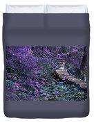 Hiking Trail Infrared Duvet Cover