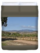 Hiking Trail To Peters Canyon Duvet Cover