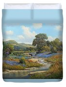 Hill Country Draw Duvet Cover
