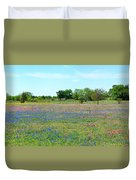 Hill Country Pastel Panorama Duvet Cover