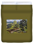 Hill Country Pasture Duvet Cover