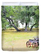 hill country Texas  Duvet Cover