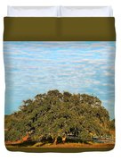 Hill Country Tree  Duvet Cover