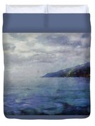 Hill In The Distance Duvet Cover