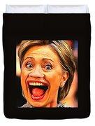 Hillary Clinton Duvet Cover
