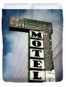 Hillcrest Motel Duvet Cover