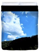 Hills And Sky Duvet Cover