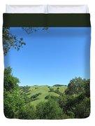 Hills Beyond The Trees Duvet Cover