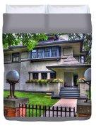 Hills-decaro House Duvet Cover