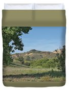 Hills In Peters Canyon Duvet Cover