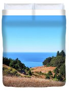 Hills To The Sea Duvet Cover