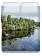 Hillsborough River 7 Duvet Cover