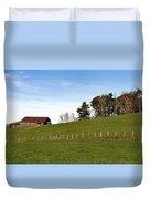 Hillside Farming Duvet Cover