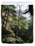 Hillside Landscape Duvet Cover