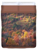 Hillside Rhythm Of Autumn Duvet Cover