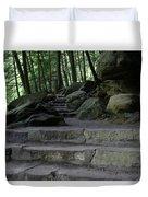 Hillside Trail Duvet Cover