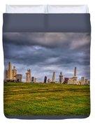 Hilltop Graveyard Duvet Cover