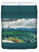 Hilly Landscape Duvet Cover