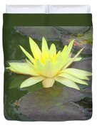 Hilo Water Lily 4 Duvet Cover