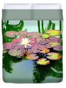 Hilo Water Lily 5 Duvet Cover
