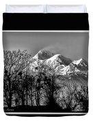 Himalaya ...the Trishul Peak Duvet Cover