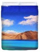 Himalayan Lake Duvet Cover