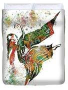 Hindu Dancer Duvet Cover