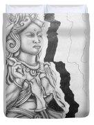 Hindu Goddess Duvet Cover