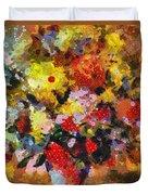 Hint Of Klimt Duvet Cover