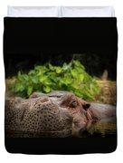 Hippo Duvet Cover