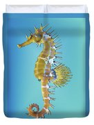 Hippocampus  Duvet Cover
