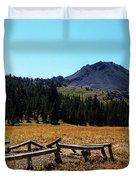 Hiram Peak Duvet Cover