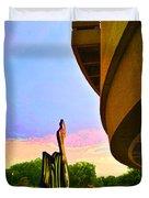 Hirshhorn Sky Duvet Cover