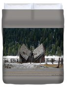 His And Hers Barn 1 Duvet Cover