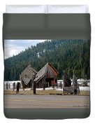 His And Hers Barn 3 Duvet Cover