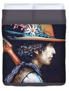 His Curls Duvet Cover