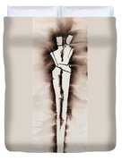 His Embrace Divine Love Series No. 1287 Duvet Cover
