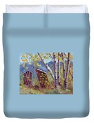 His 'n' Hers At Columbine Colorado Duvet Cover