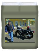 His Pride And Joy Duvet Cover