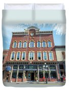 Historic Buildings Deadwood South Dakota Duvet Cover